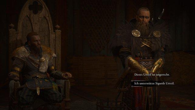 """Auch wenn Sigurds Urteil überzogen ist, solltet ihr es Unterstützen, wenn ihr lieber das """"gute Ende"""" haben wollt."""