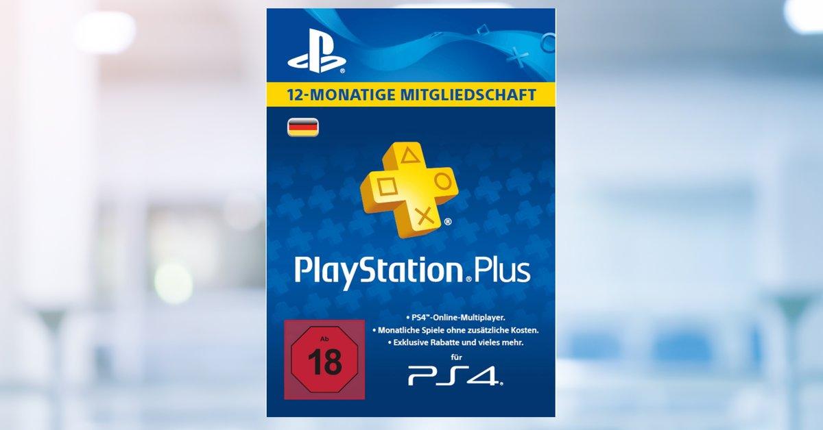 PS Plus aktuell günstig: 12 Monate PlayStation-Plus-Mitgliedschaft stark reduziert