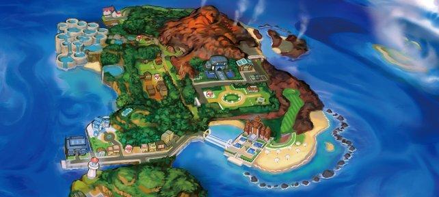 Es gibt drei Inselprüfung auf Akala.