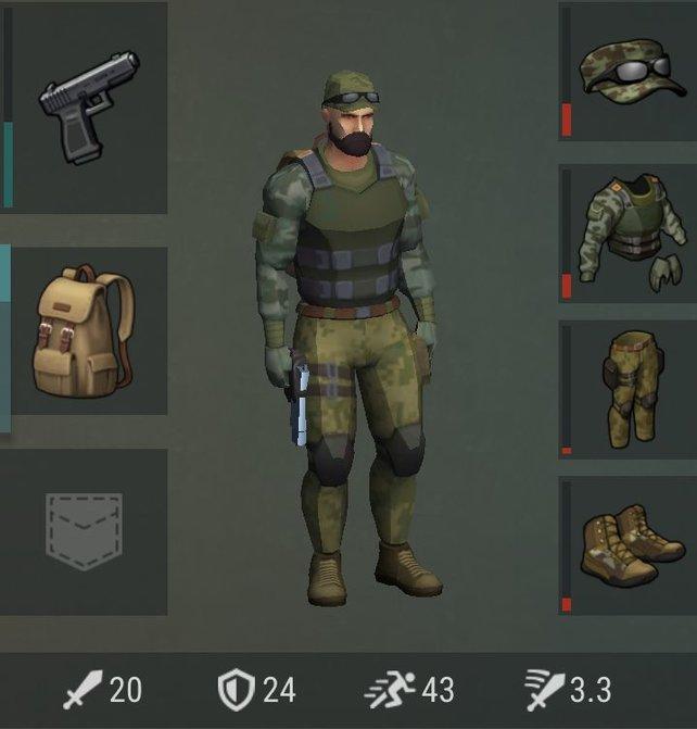 Rüstungen werden euch bei Last Day on Earth das Leben retten.
