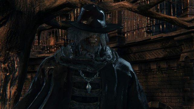 Pater Gascoigne - der erste Jäger, dem ihr in Bloodborne begegnet.