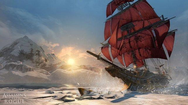 Die Morrigan ist ein wehrhaftes Schiff.