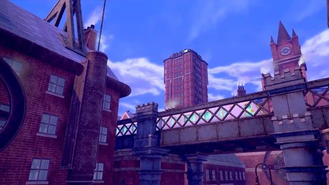Die Steampunk-Elemente machen Galar zu einer einzigartigen Region innerhalb der Pokémon-Reihe.