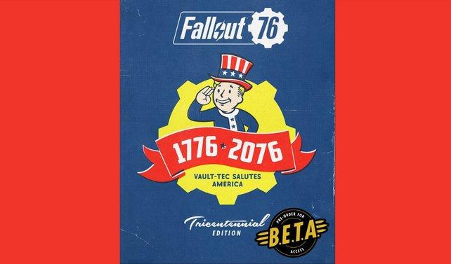 Lust euch mit ein paar einzigartigen Bonusgegenständen zu schmücken? Dann solltet ihr euch für die Tricentennial Edition von Fallout 76 entscheiden, die es für PC, PS4 und Xbox One gibt.