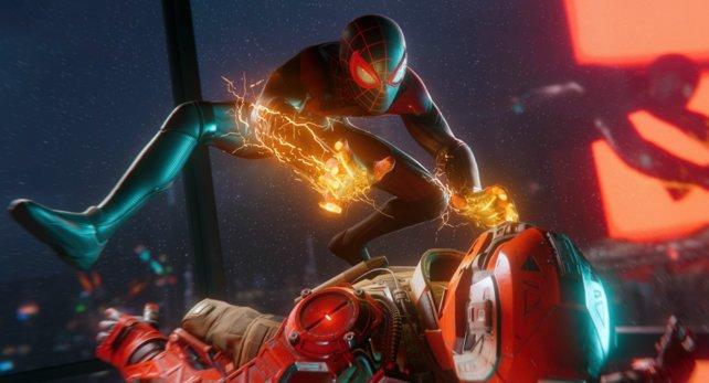 Einige Platin-Spieler von Spider-Man: Miles Morales erhalten eine Belohnung - andere nicht.