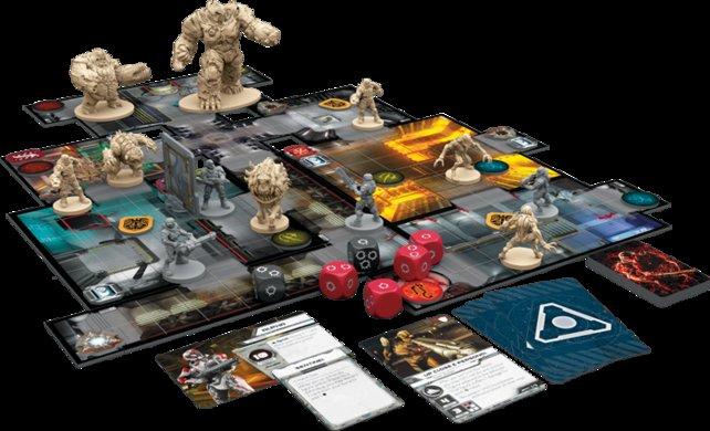 So sieht das neue Doom-Brettspiel aus