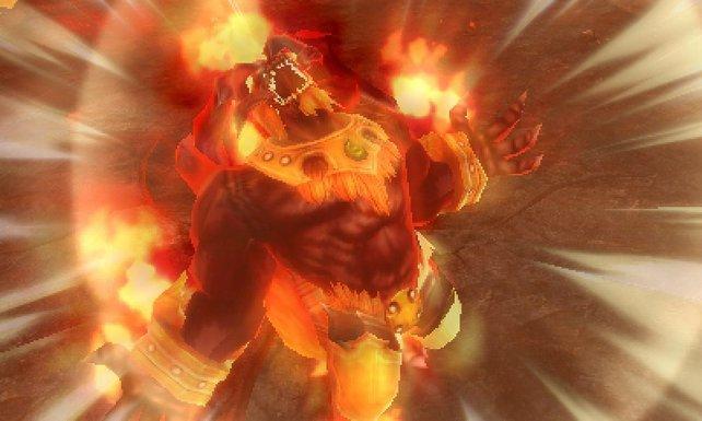Ifrit ist sauer - was wagen diese blöden Helden es auch, sich mit einem Feuer-Elementar anzulegen?