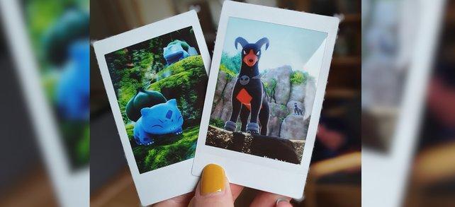 Eine schöne Erinnerung und coole Deko-Idee für die Pokémon-Ecke.