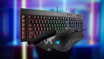 Gaming-Tastatur mit RGB, Maus & Pad jetzt günstig