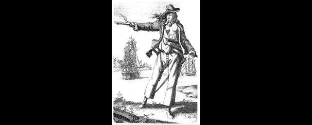 Anne trat in ihrer Piratenkarriere als Mann verkleidet auf.