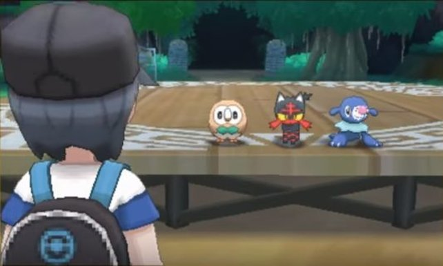 Ein Neustart bedeutet auch, dass ihr ein neues Starter-Pokémon wählen dürft.
