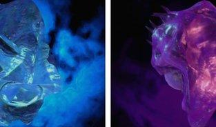 Alle blauen und violetten Kugeln mit Fundorten