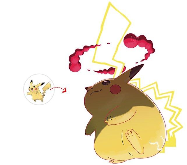 Dürfen wir vorstellen: Gigadynamax-Pikachu. Quelle: Pokémon.com.