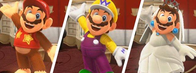 Super Mario Odyssey Amiibo Funktionen Und Freischaltbares