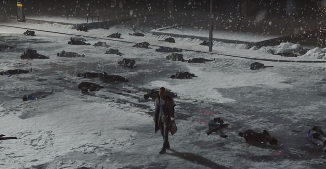 Markus geht im schlechten Ende wortwörtlich über Leichen. Auch für die anderen Charaktere kann es düster ausgehen.