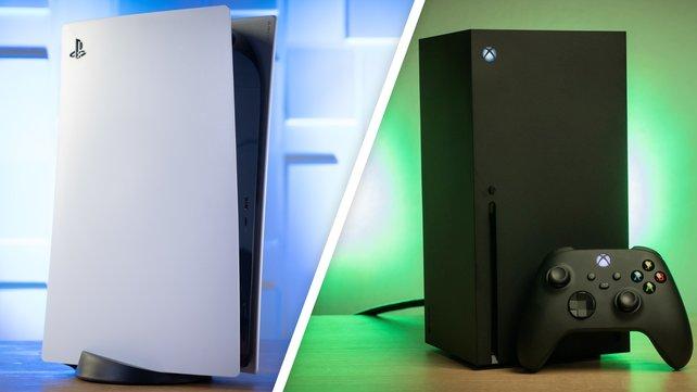 PS5 vs. Xbox Series X: Eine neue Art von Konsolenkrieg.
