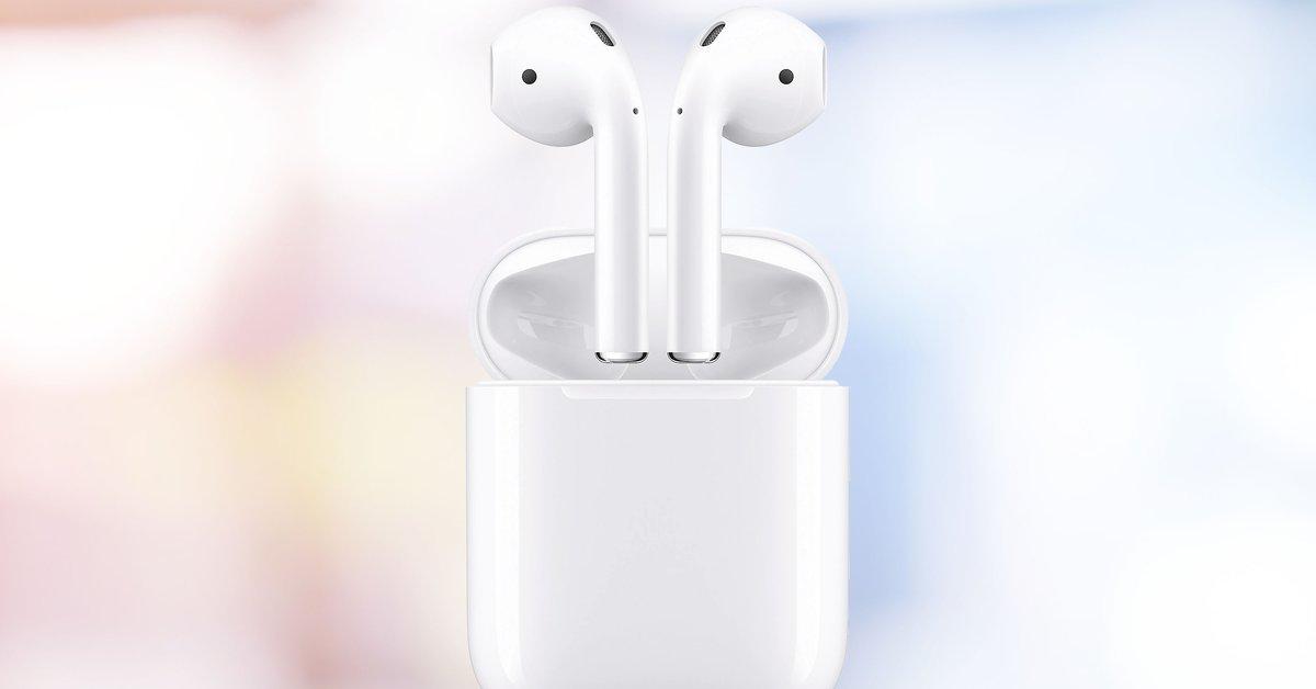 Apple AirPods 2 zum Top-Preis | Beliebte In-Ear-Kopfhörer aktuell günstig