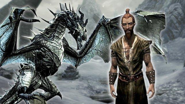 News | Skyrim: NPC wird zum Drachenblut, Community ist begeistert
