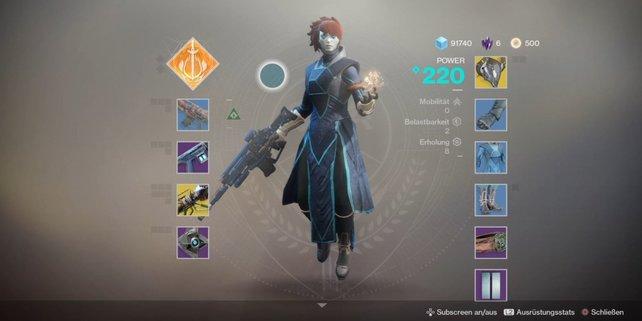 Stilbewusst: Einen Warlock erkennt man schnell an seiner majestätischen Robe.