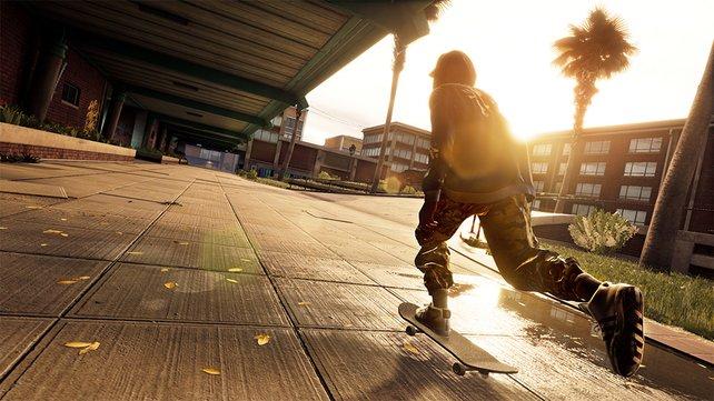 Die Skater in Tony Hawk's Pro Skater 1+2 machen trotz ihres Alters eine gute Figur auf dem Board.