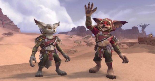 In World of Warcraft könnt ihr bald zwei neue Rassen spielen.
