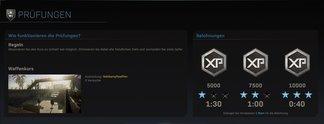 Tipps: Call of Duty: Modern Warfare: Tickets für Prüfungen verdienen