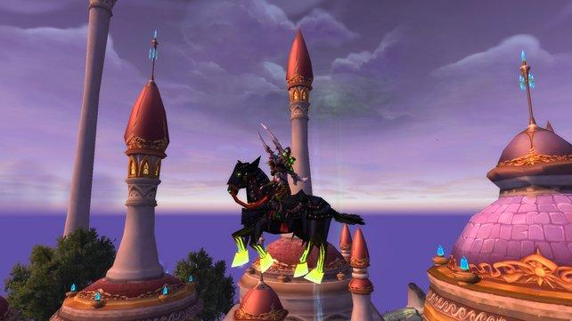 'Die Zügel des Reiters' bekommt ihr während der Schlotternächte... wenn ihr ein wenig Glück beim Eventboss habt!