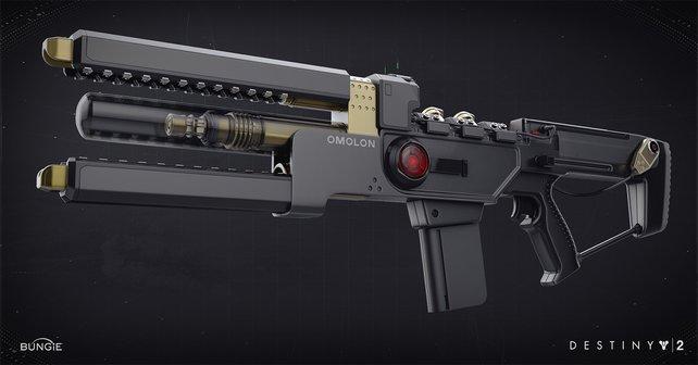 Das ist die Waffe, um die es geht: Der Wavesplitter aus Destiny 2.