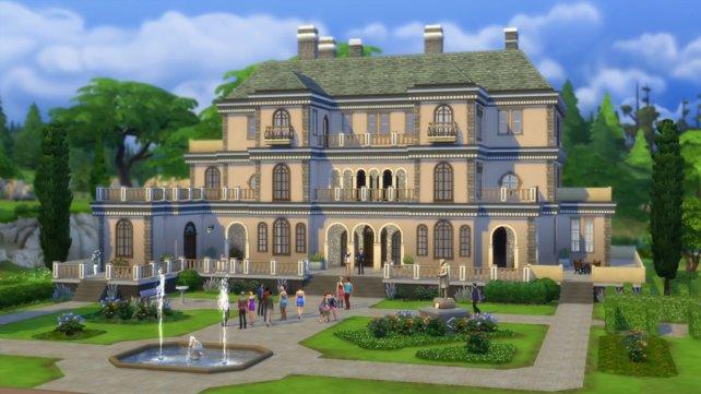 Ihr wollt euch auch eine luxuriöse Villa in Sims 4 bauen? Mit Cheats könnt ihr euch das nötige Kleingeld beschaffen.