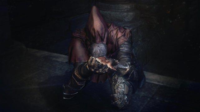 Egal ob Bittsteller oder Erzfeind, wenn die Charaktere in Dark Souls den Mund aufmachen, sprechen sie Englisch.