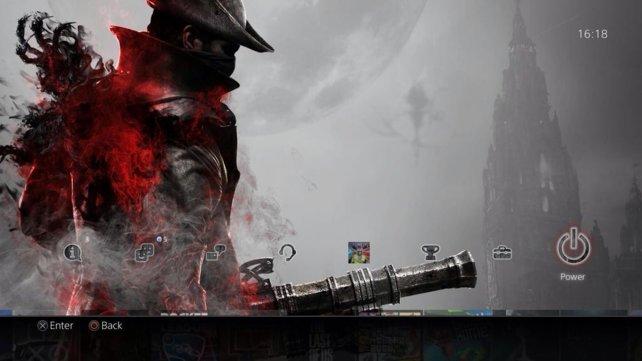 So sieht das Bloodborne-Design für den Erhalt der Platin-Trophäe aus.