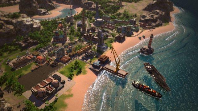 Für jeden Hafen gibt es einen besonders profitablen Handelsweg. Es lohnt sich daher mehrere Häfen zu bauen.