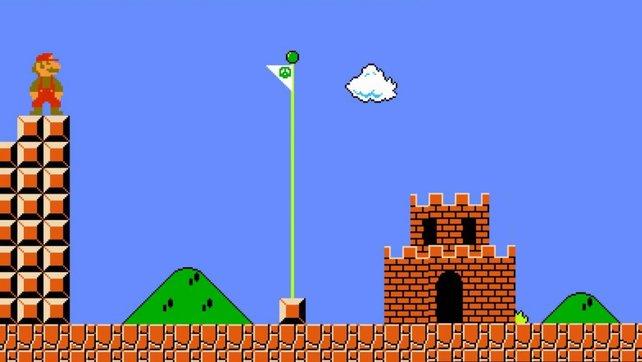"""Auch am Ende eines Levels in Super Mario Bros. bekommt ihr so eine """"Fünf Ton""""-Melodie zu hören."""