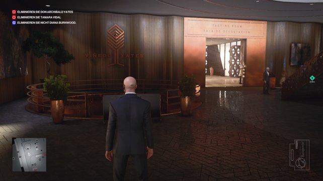 Auf Etage zwei findet ihr den Treppenabgang zum Kino in Mendoza.