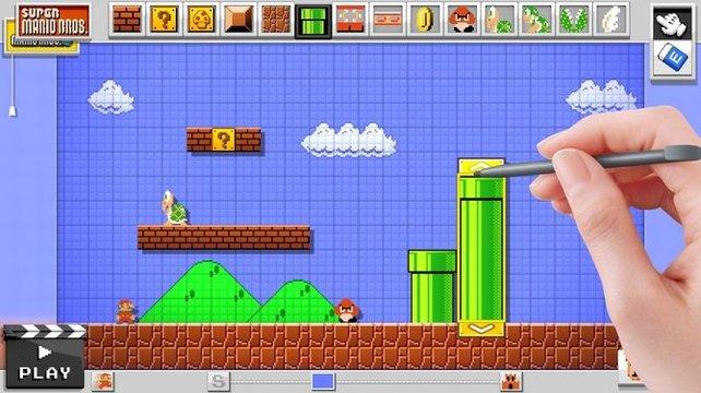 Die Länge, Breite und Ausrichtung vieler Objekte fügen sich ebenfalls euren Vorgaben. Aber soll nun Mario in die Röhre hineinschlüpfen können oder Feinde heraus?
