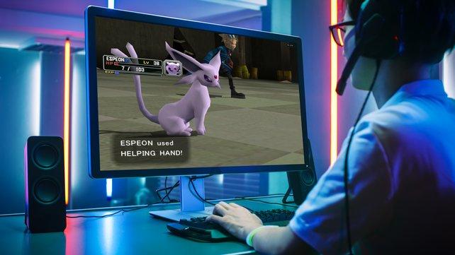 Fast hättet ihr Pokémon-Kämpfe im Collosseum-Stil auf dem PC austragen können. Quelle: Getty Images / gorodenkoff