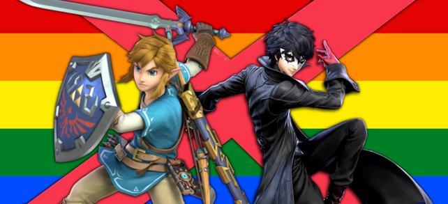 The Legend of Zelda und Persona 5 sind nicht frei von homophoben Stereotypen. (Bildquelle: Getty Images / Passatic
