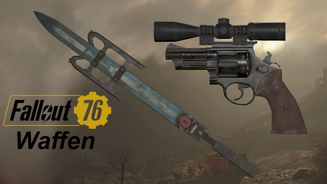 Bei Fallout 76 gibt es unzählige Waffen. Welche sind eure liebsten?