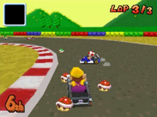 Mario Kart DS ist das fünfte Spiel der Reihe und eines der erfolgreichsten.