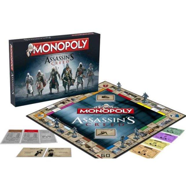 Auch zu Assassins' Creed kommt eine Monopoly-Edition, die sich an dem bekannten Action-Adventure orientiert.