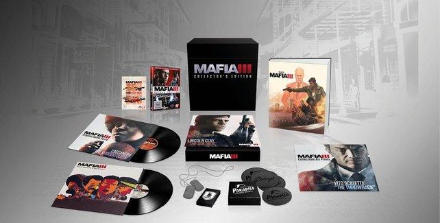 Die Collector's Edition von Mafia 3 ist prallgefüllt mit tollen Inhalten.