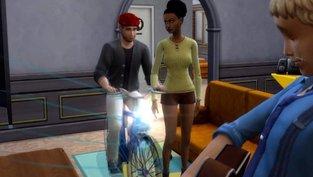 Die Sims 4: Schamlose Radfahrer