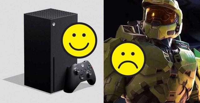 Die Xbox Series X muss vorerst ohne Halo: Infinite auskommen. Bildquelle: Getty Images/ rootstocks
