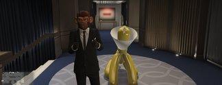 GTA Online - Spieler fahren voll auf diese Statue ab
