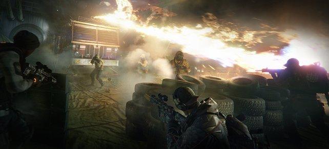 Drachenhort: Ein feuerspuckender Wagen der Feuerwehr als Endboss? Das wird heiß!