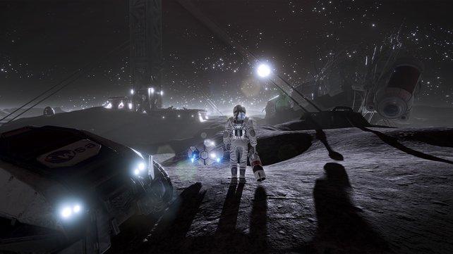 """Das finale Spiel lässt sich aus zwei unterschiedlichen Perspektiven erleben. """"Oculus Rift""""-Unterstützung ist ebenfalls geplant."""