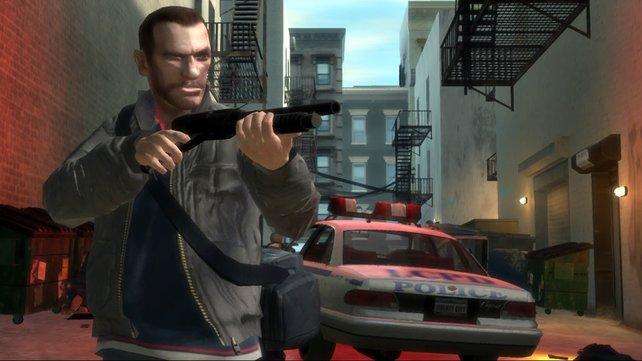 """Nicht gerade der beliebteste Serien-""""Held"""": Nico Bellic aus GTA 4."""