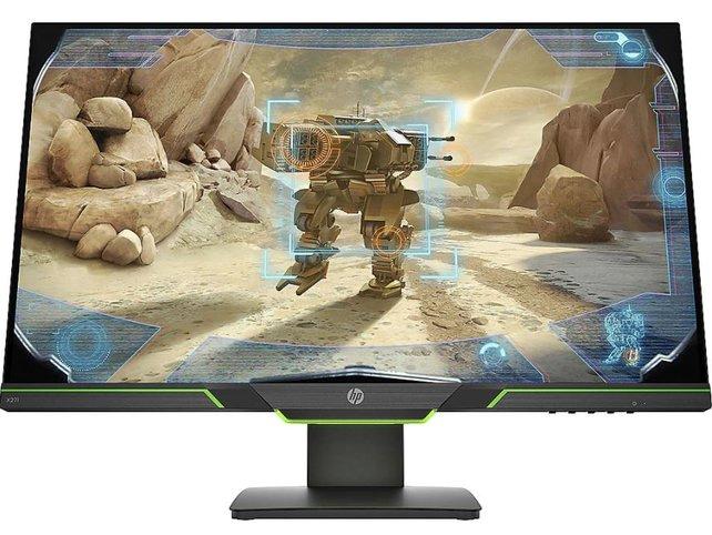 Der HP X27i 2K Gaming-Monitor: Hohe Auflösung und ruckelfrei.
