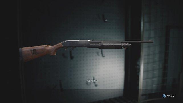 Die M3-Schrotflinte braucht jeder Zombie-Jäger!