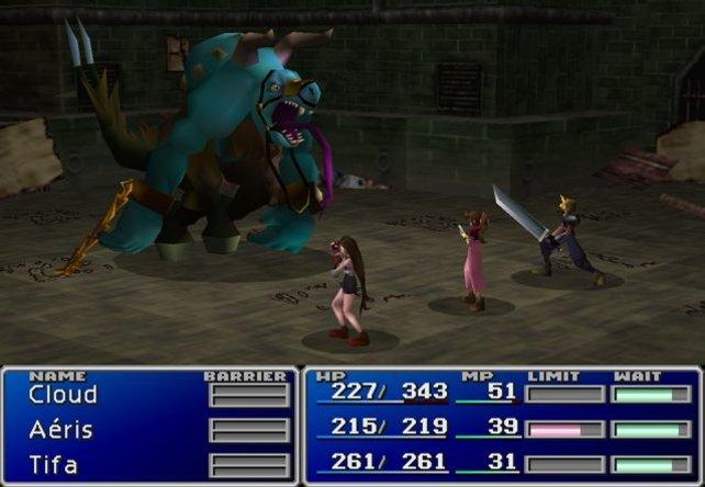 """Auch die """"Final Fantasy""""-Spiele stellen Gewalt dar."""